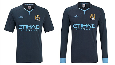 2010/11 - Man City Away Kit