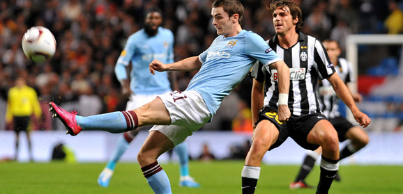 Adam Johnson in action