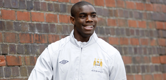 Micah on his way to training