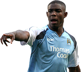 Micah Richards pointing