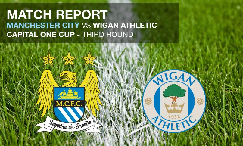Manchester City vs Wigan Athletic - Capital One Cup - Match Review