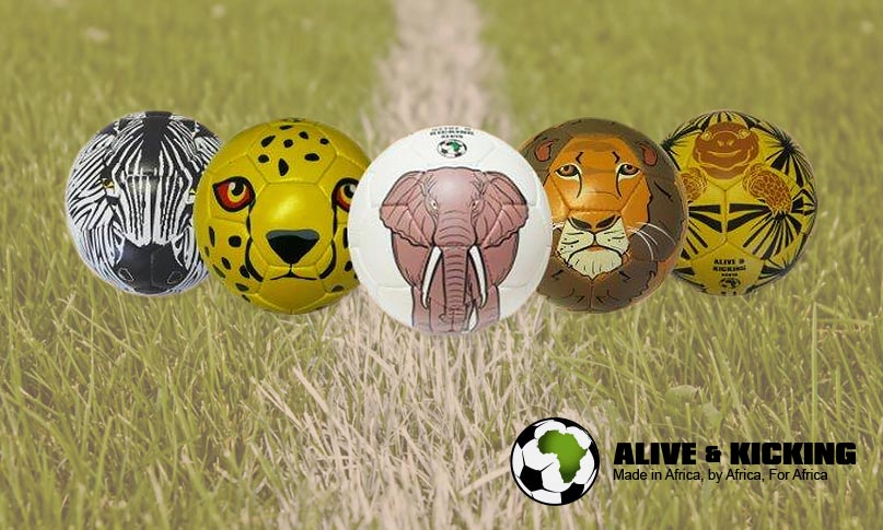 Alive & Kicking are offering the chance to win one of five limited edition animal-inspired footballs as part of their 'Big Five' Christmas raffle.