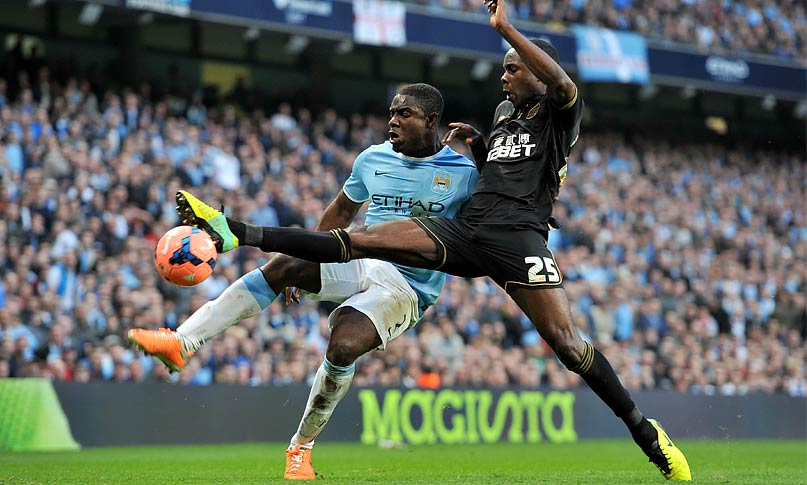 Manchester City 1 - 2 Wigan Athletic