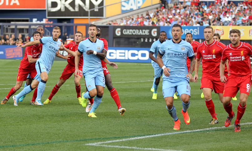 Liverpool v Manchester City Friendly - Yankee Stadium