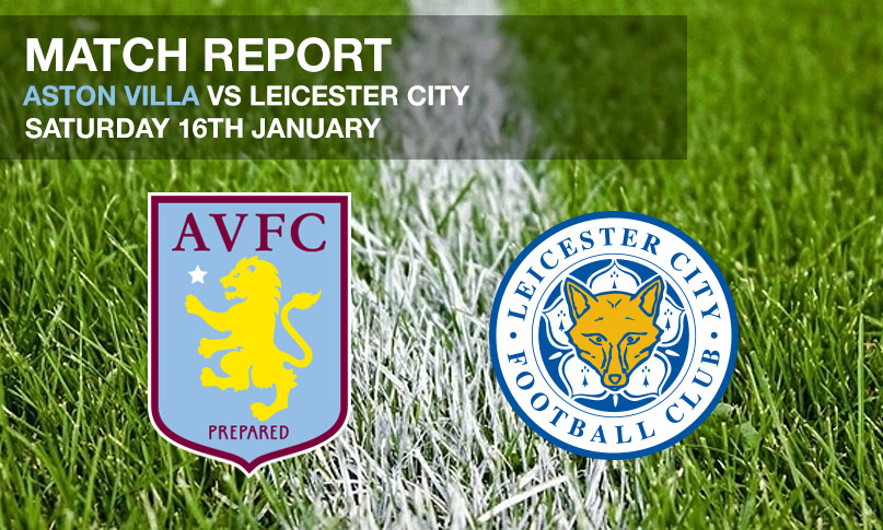 Aston Villa vs Leicester City