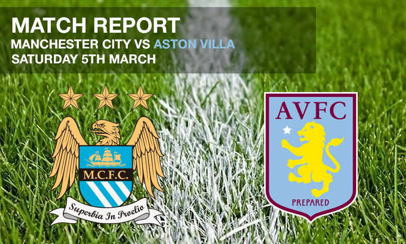 Manchester City vs Aston Villa